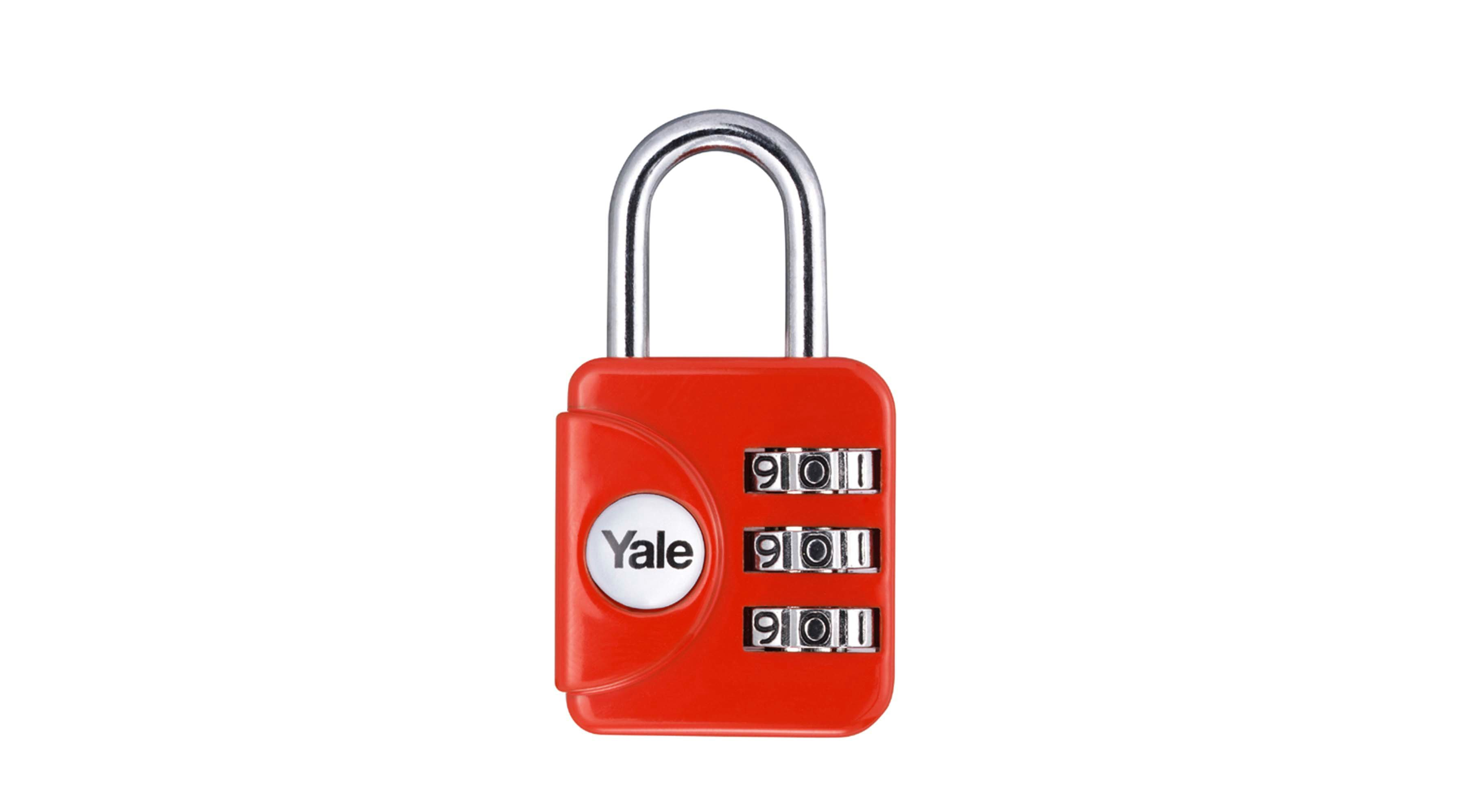 Standard travel padlock
