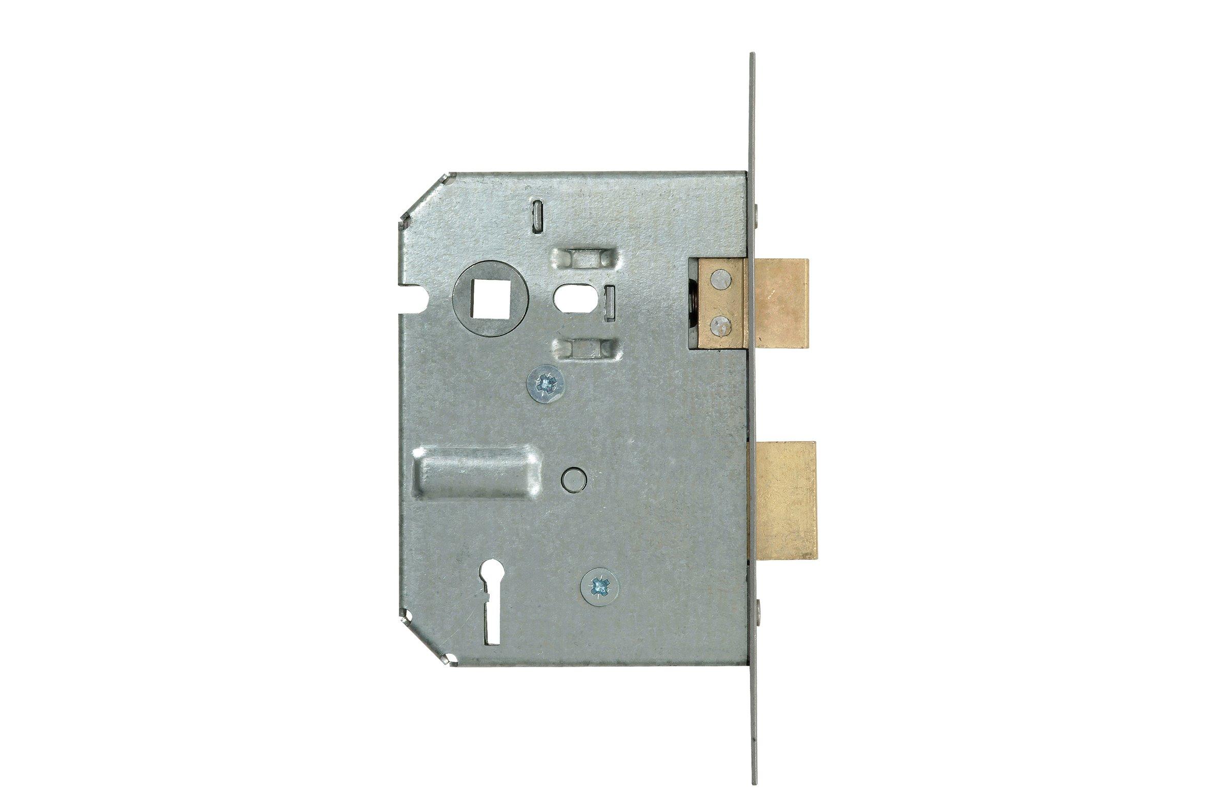 2 Lever Mortice Lock - Galvanised