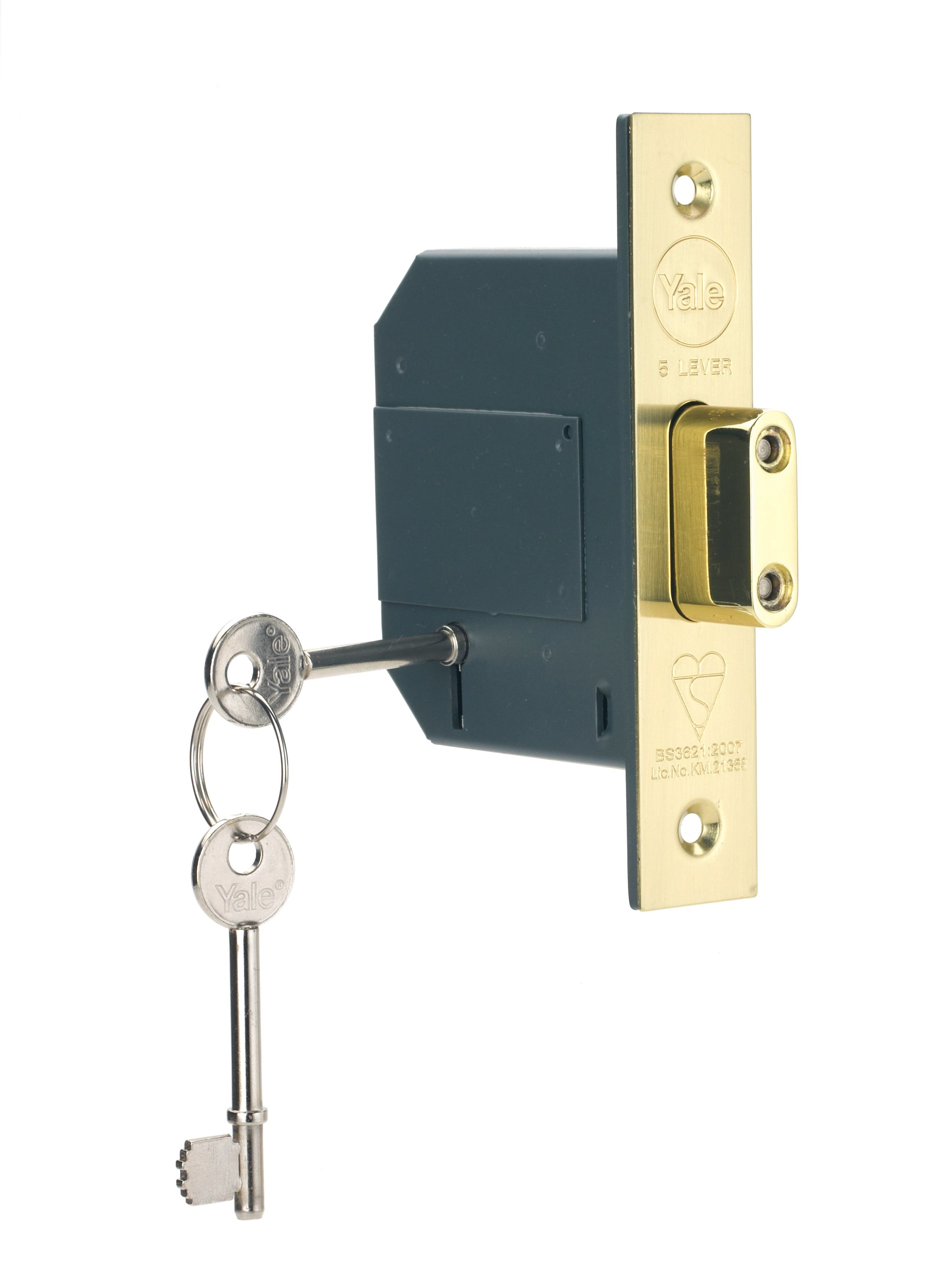 PM562 British Standard BS3621 5 Lever Deadlock
