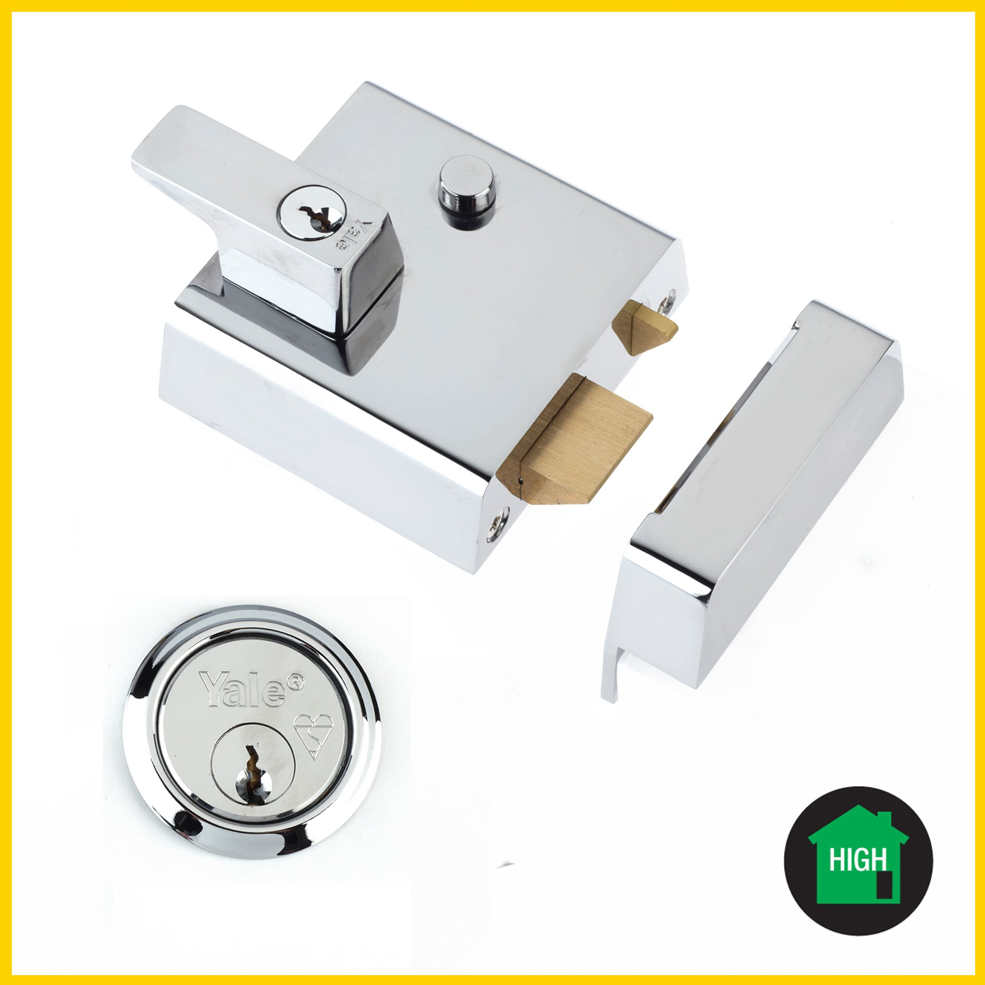 P1/P2 - Double Locking Nightlatch