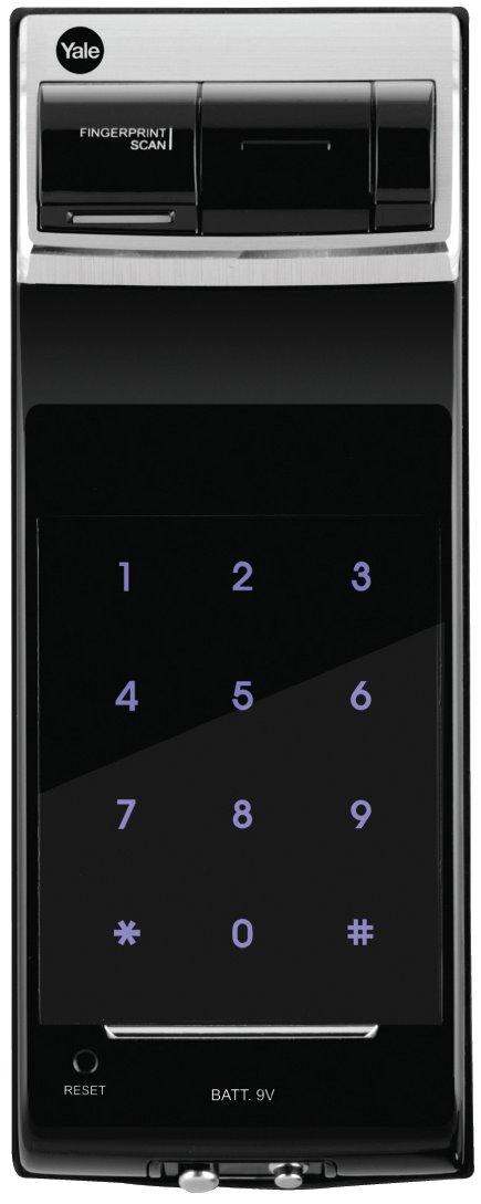 YDR 4110 - Premium Biometric Fingerprint Digital Door Lock (Rim Lock)
