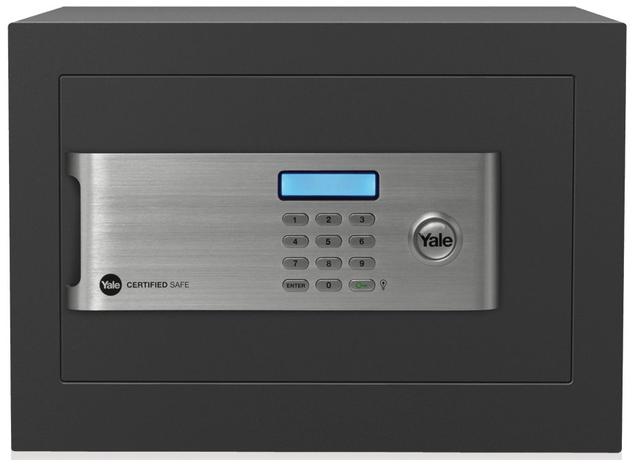 YSM/250/EG1 - Yale Certified Home Digital Safe Box (Small)
