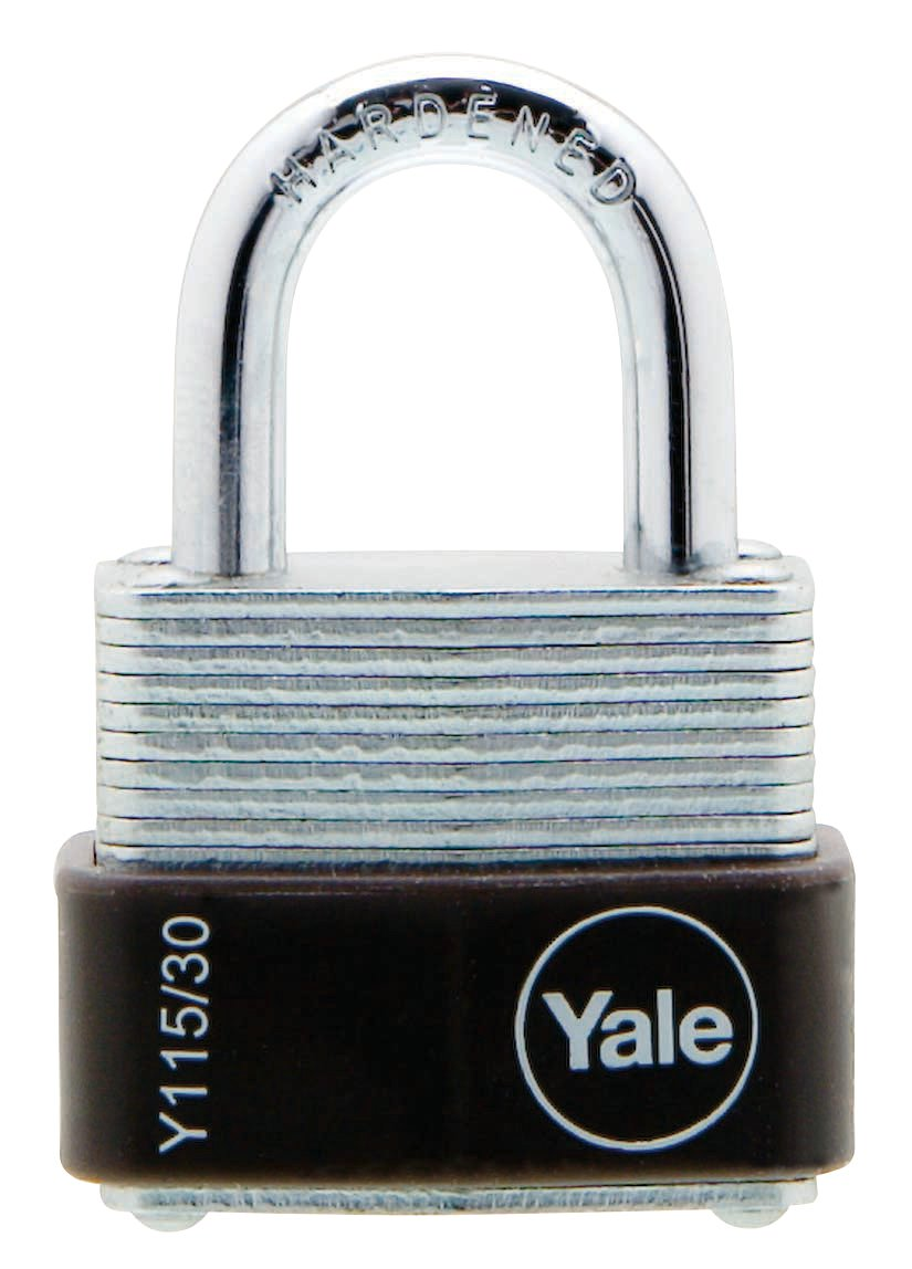 Y115/30/117 - Yale Classic Series Outdoor Laminated Steel Padlock 30mm with Multi-pack