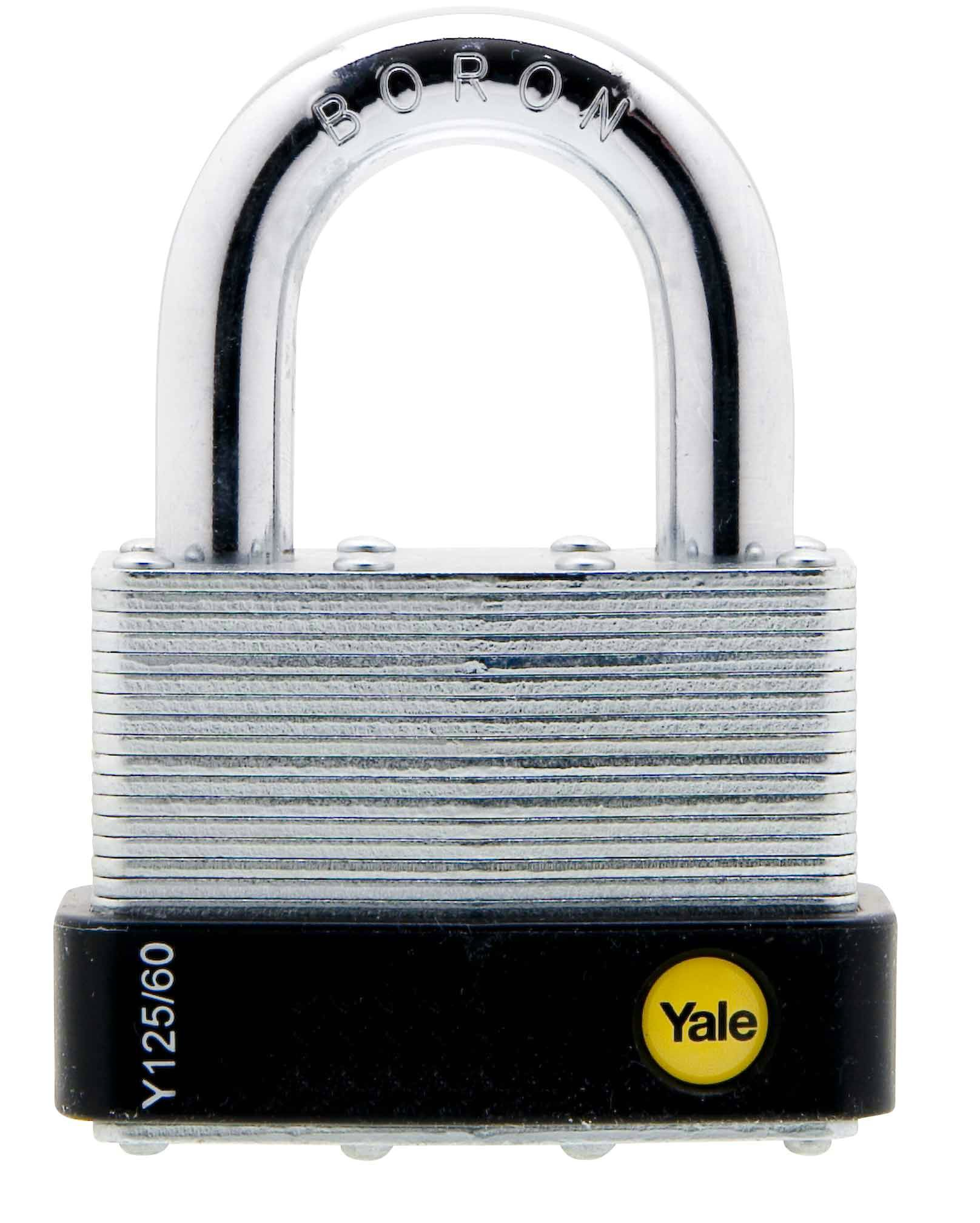 Y125/60/133 - Yale Classic Series Outdoor Laminated Steel Padlock 60mm