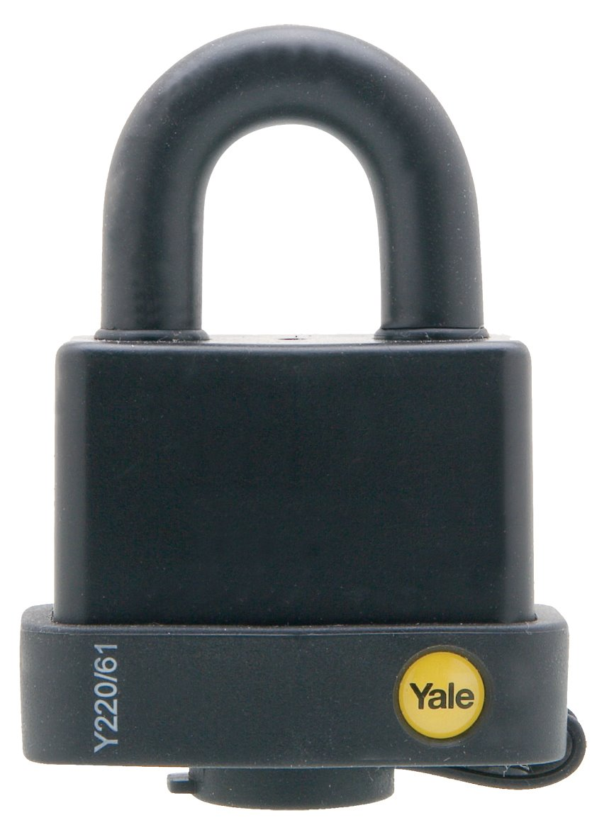 Y220/61/123 - Yale Classic Series Weather Resistant Laminated Steel Padlock 61mm