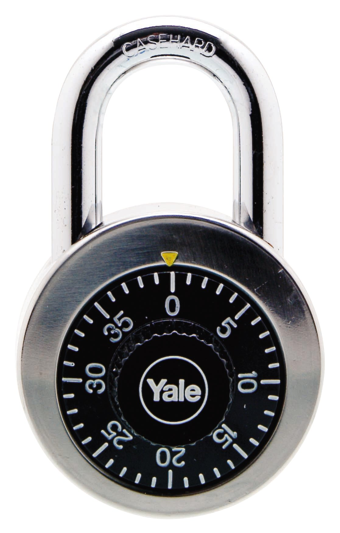 Y140/50/122 - Yale Classic Series Stainless Steel Rotary Dial Combination Padlock