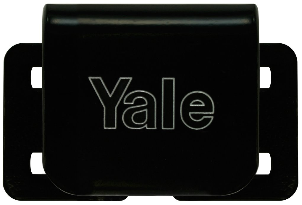 Y301/60/BK/R - Yale Hardened Steel Padlock Locking Plates with Concealed Fixing
