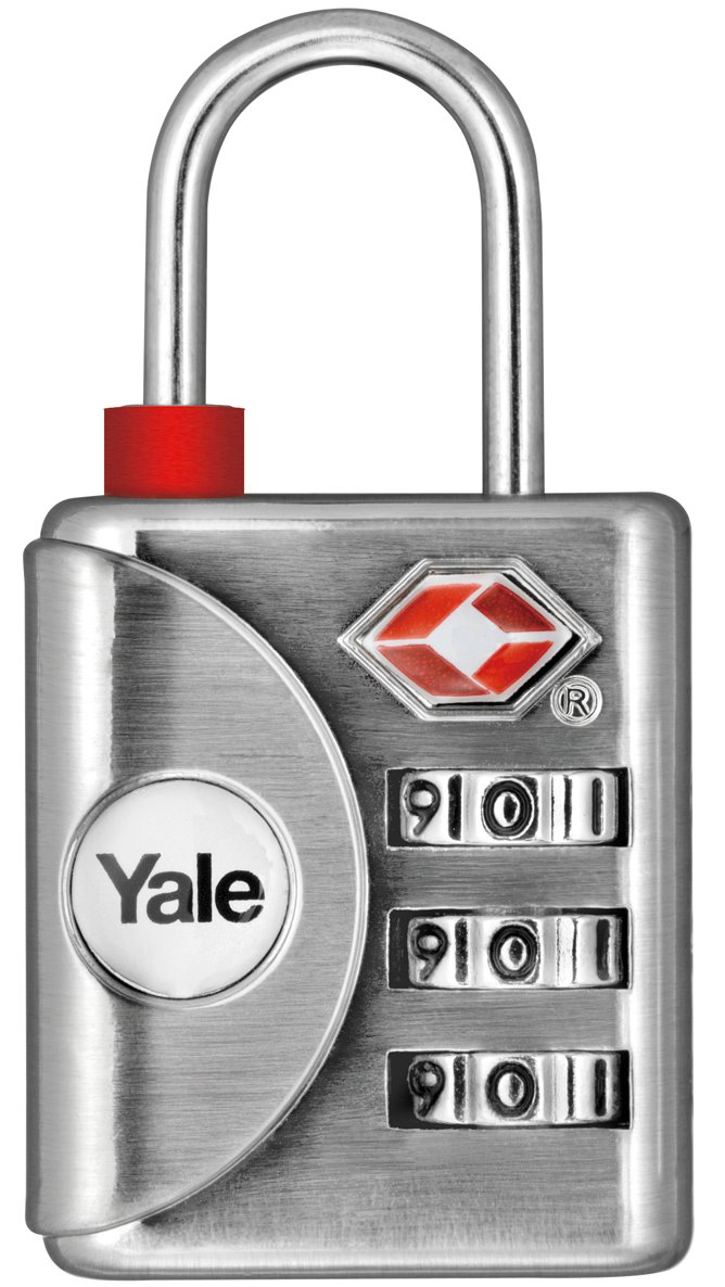 YTP1/32/119 - Yale Inspection indicator Luggage TSA Combination Lock