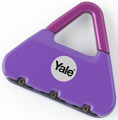 Y-NOVELTY-1 - Yale Novelty Lock Range Party Girl Luggage 3 Digit Combination Lock