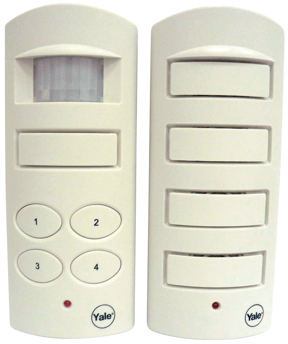 SAA5040 - Yale Single Room Alarm (with 4-digit programmable code and additional siren)