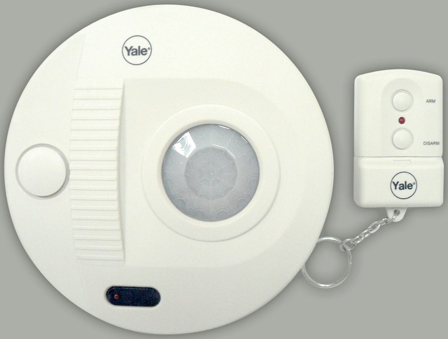 SAA5050 - Yale Single Room Ceiling Mounted Alarm (with remote control)
