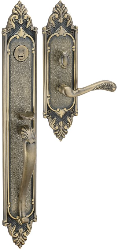 M8773 J1 - Yale M8700 series Classic Style Entrance Door Handle Set 7
