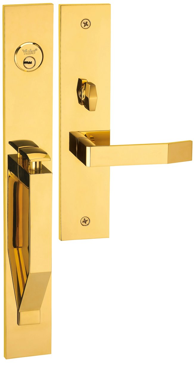 M8773 D1 - Yale M8700 series Elegance Style Entrance Door Handle Set D1