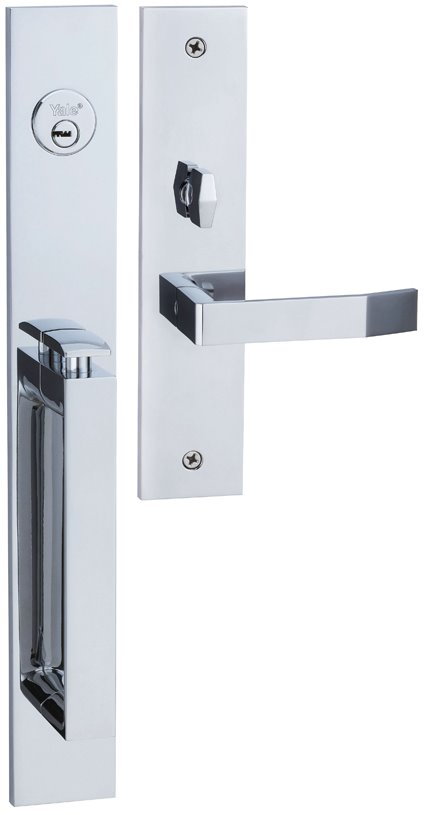 M8773 D3 - Yale M8700 series Elegance Style Entrance Door Handle Set D3