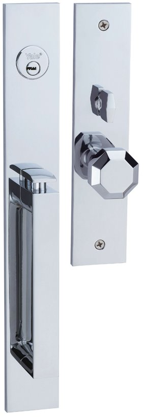M8773 D4 - Yale M8700 series Elegance Style Entrance Door Handle Set D4