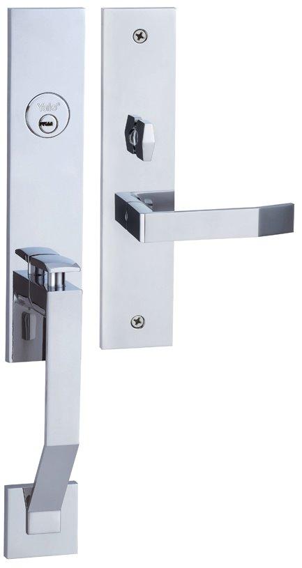 M8773 D5 - Yale M8700 series Elegance Style Entrance Door Handle Set D5