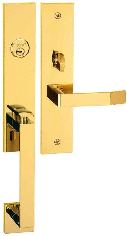 M8773 D7 - Yale M8700 series Elegance Style Entrance Door Handle Set D7