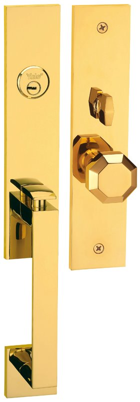 M8773 D8 - Yale M8700 series Elegance Style Entrance Door Handle Set D8