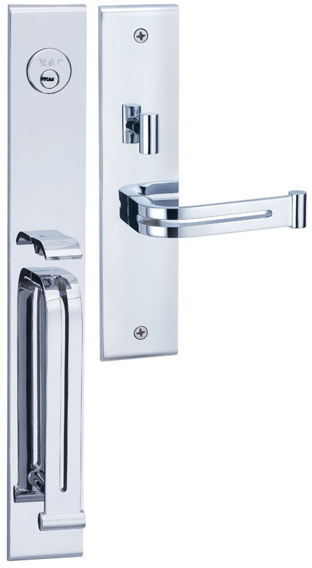 M8773 E3 - Yale M8700 series Elegance Style Entrance Door Handle Set E3