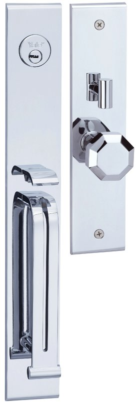 M8773 E4 - Yale M8700 series Elegance Style Entrance Door Handle Set E4