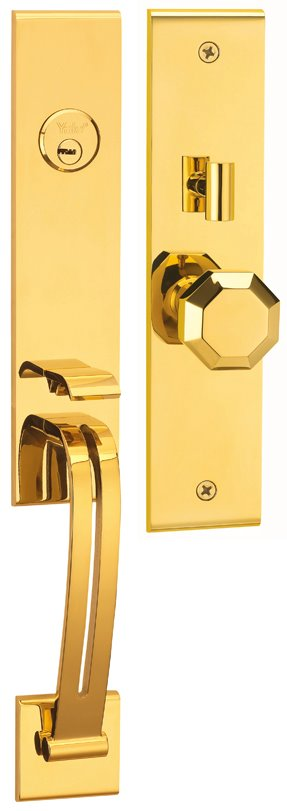 M8773 E6 - Yale M8700 series Elegance Style Entrance Door Handle Set E6