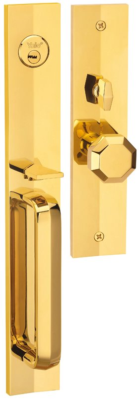 M8773 F4 - Yale M8700 series Elegance Style Entrance Door Handle Set F4