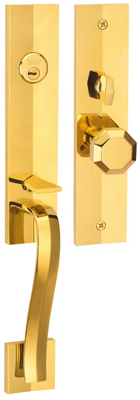 M8773 F6 - Yale M8700 series Elegance Style Entrance Door Handle Set F6