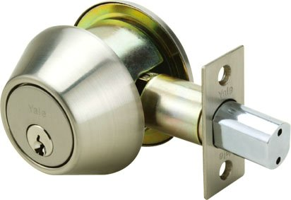 8211D - Yale 8200 Series Medium Duty Deadbolt (Cylinder and Thumbturns with Dimple Key)