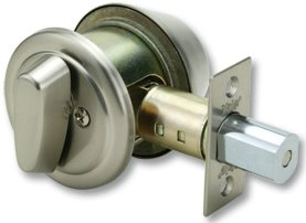8411D - Yale 8400 Series Medium Heavy Duty Deadbolt (Cylinder and Thumbturns with Dimple Key)