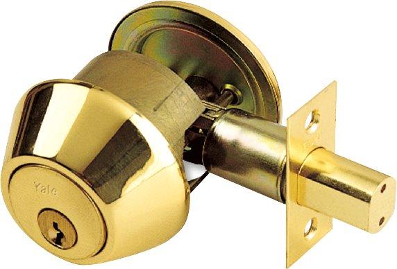 8111 - Yale 8100 Series Standard Duty Deadbolt (Single Cylinder with Thumb turn)