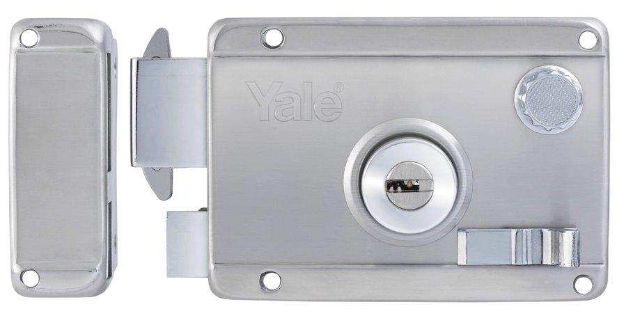 R5123 SS RH - Yale Stainless Steel Rim Lock 3