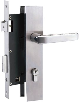Yale Stainless Steel Door Lever Handle on Escutcheon (Handle Y)