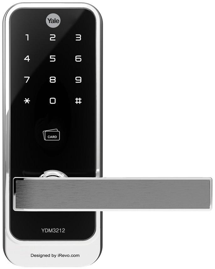 YDM 3212 - PIN Code, Proximity Card Key & Remote Control (Optional) (Clutch Mechanism)