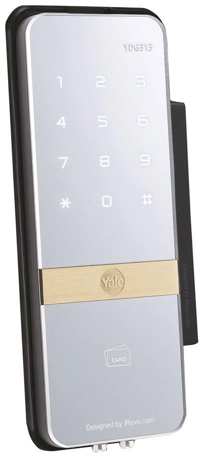 YDG313 serratura per porte in vetro