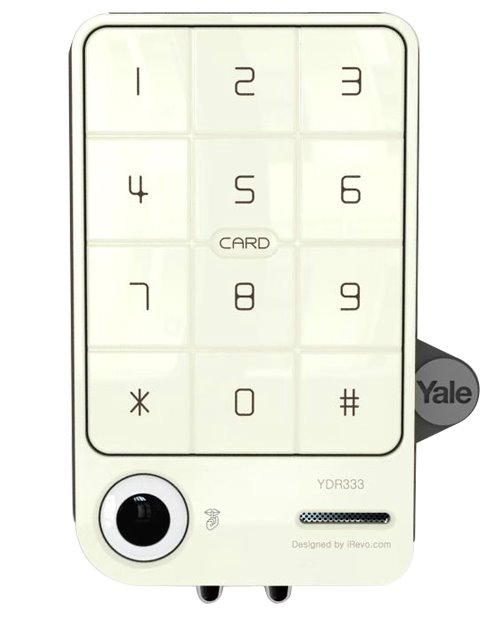 YDR 333 – Digital Door Lock with PIN Code & RF Card Key (Rim Lock)