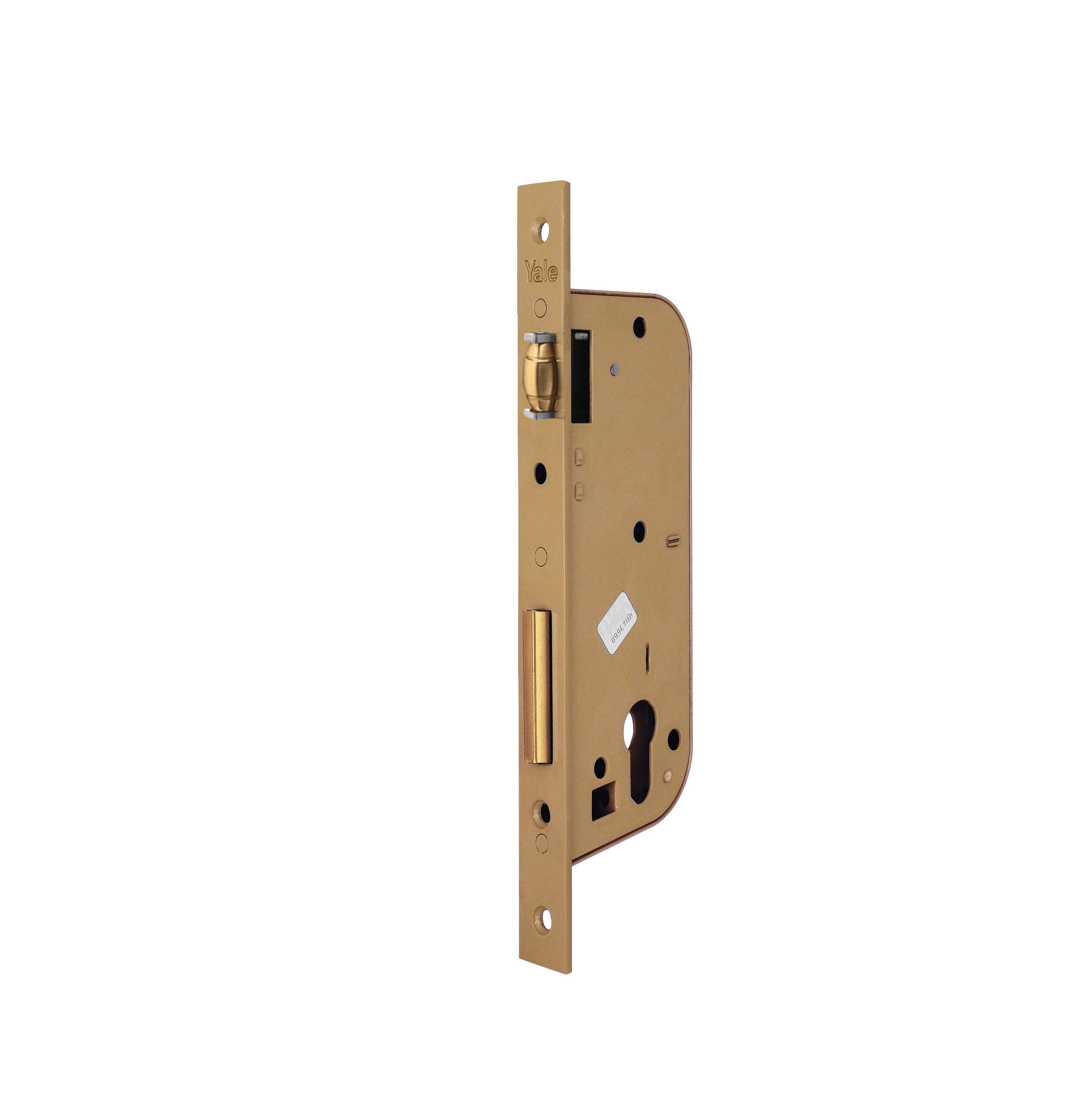 521 Mortice fock for wooden door with adjustable roller