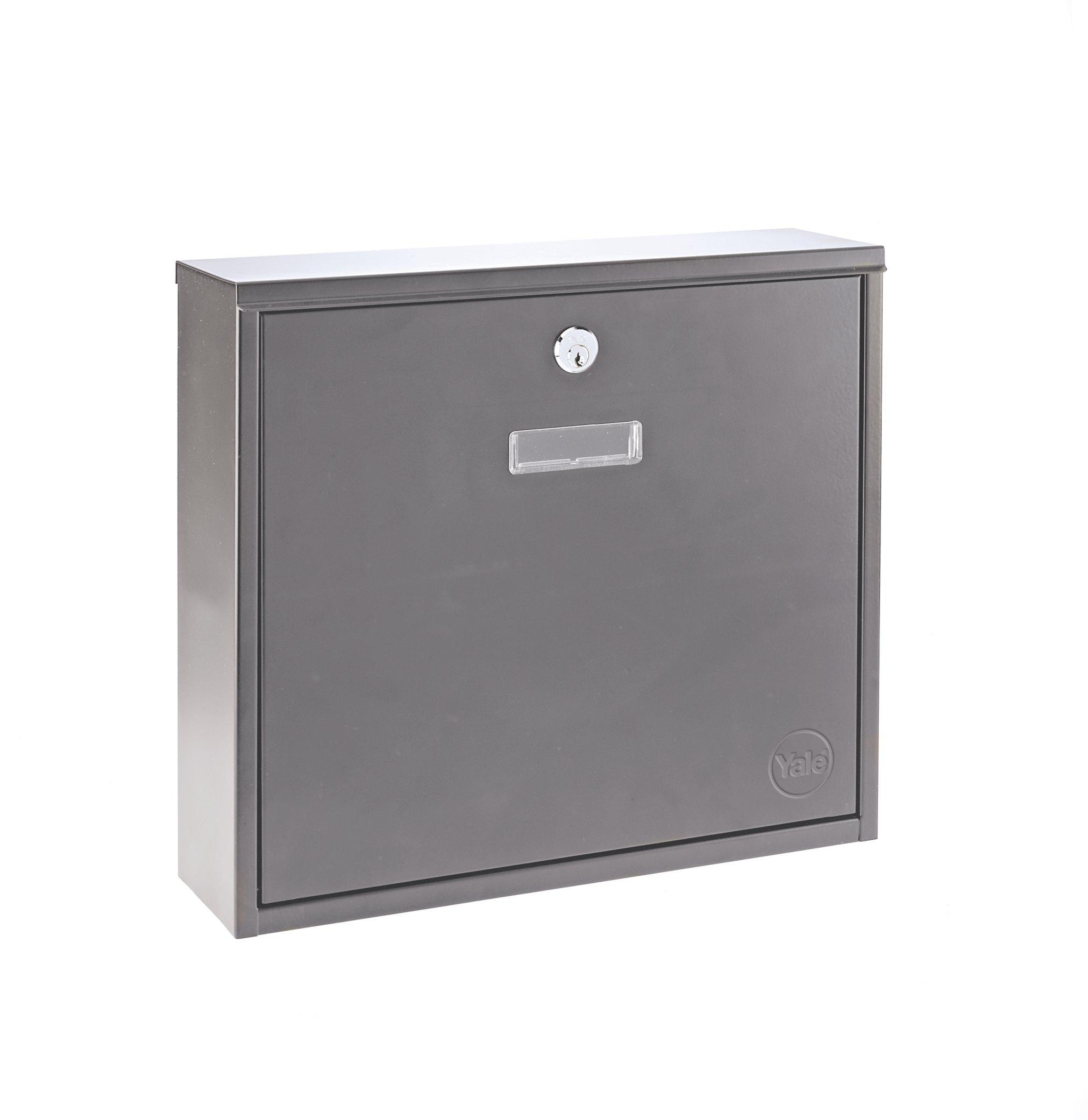 Georgia Postbox Stainless Steel