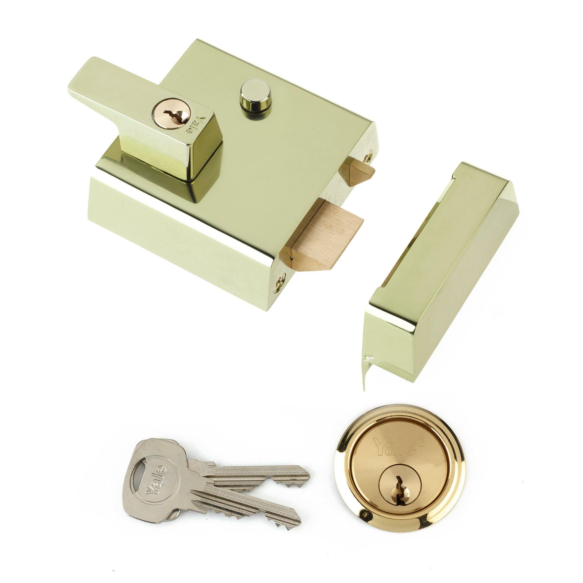 P1 / P2 Double Locking Nightlatch