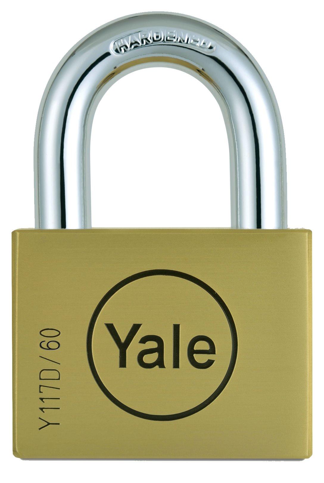 Y117D/60/127 - Yale Disc Padlock 60mm
