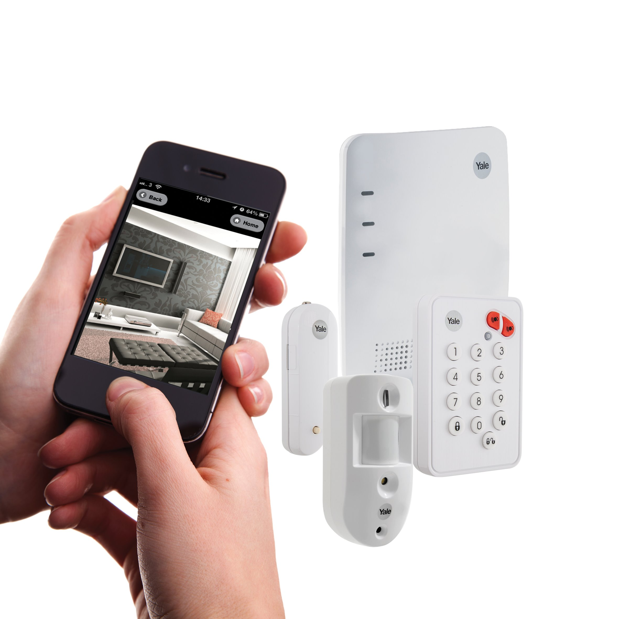 Larm paket smartphone