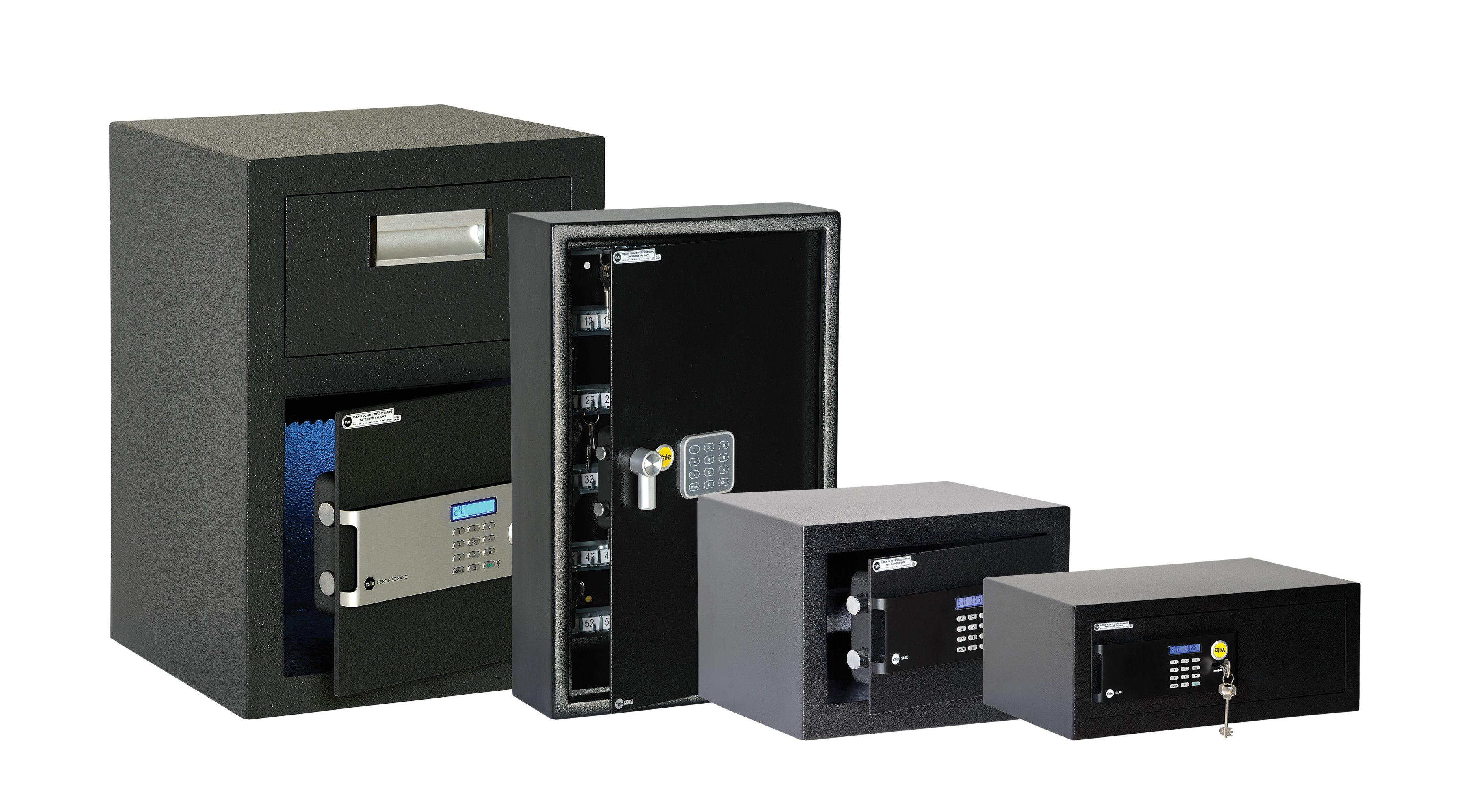 Safes, Safety boxes and Cabinets