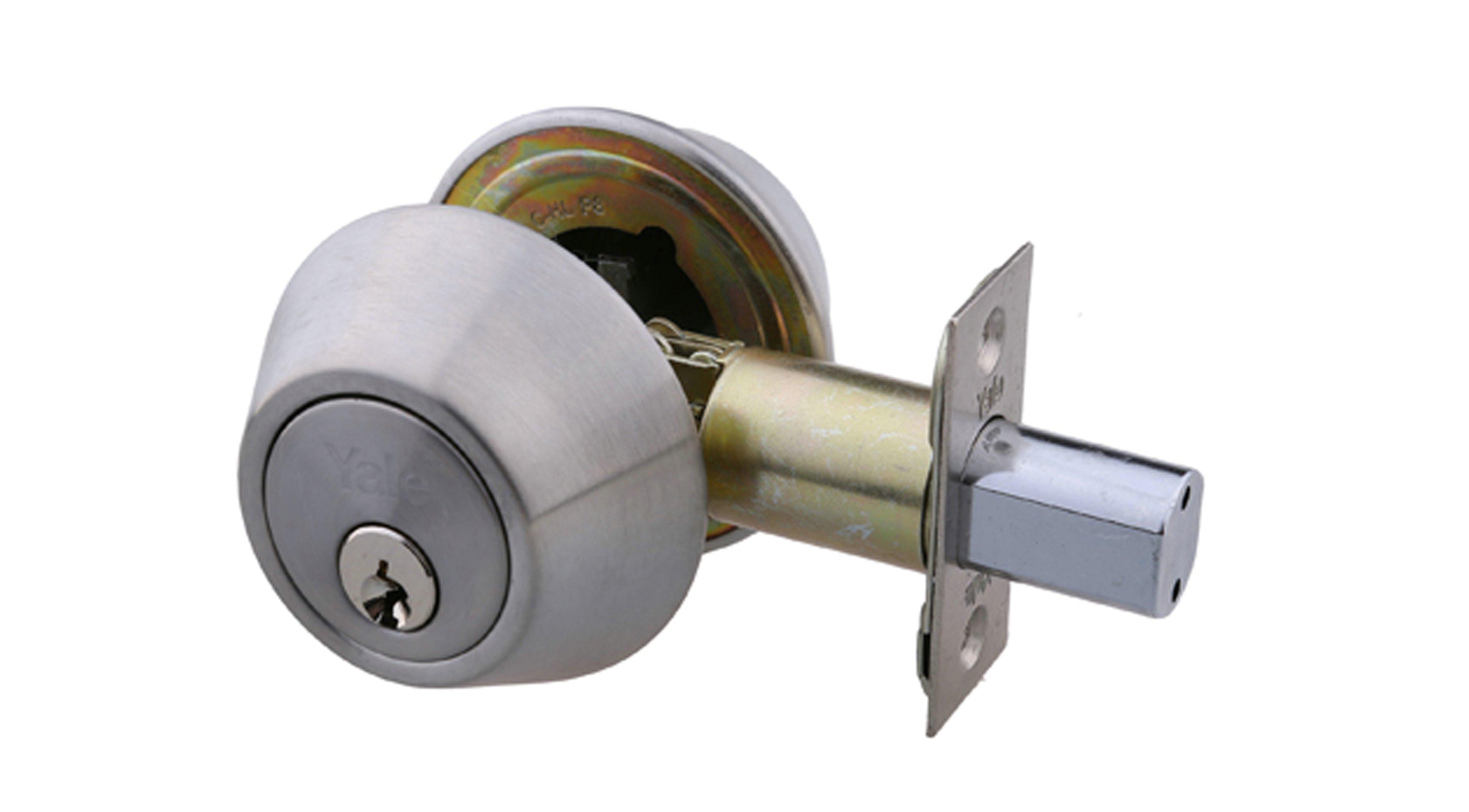 Double Cylinder Deadbolt - Satin Silver