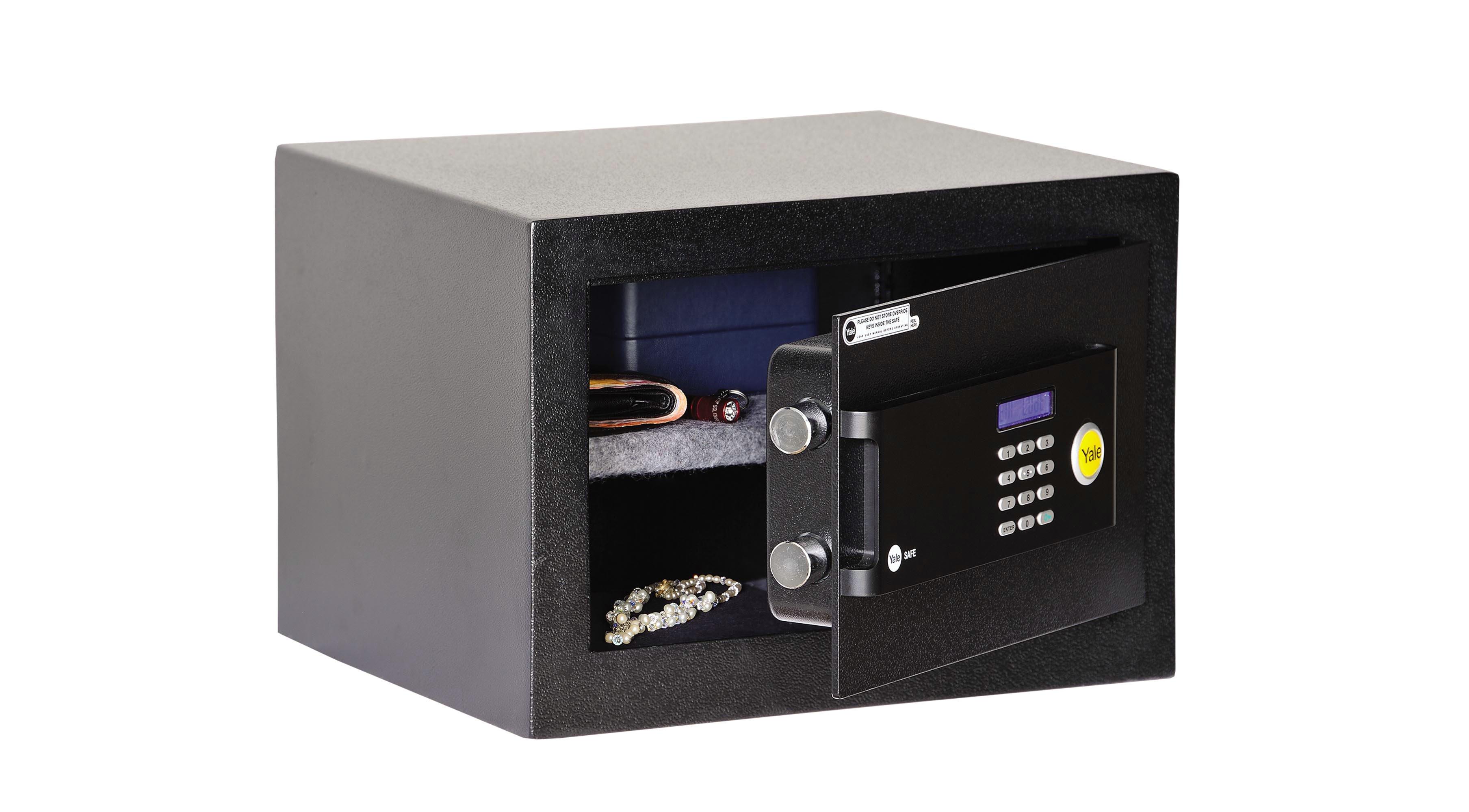 Safes - Motorised locking