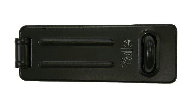 Y135 Hasp Steel Black Finish 120mm