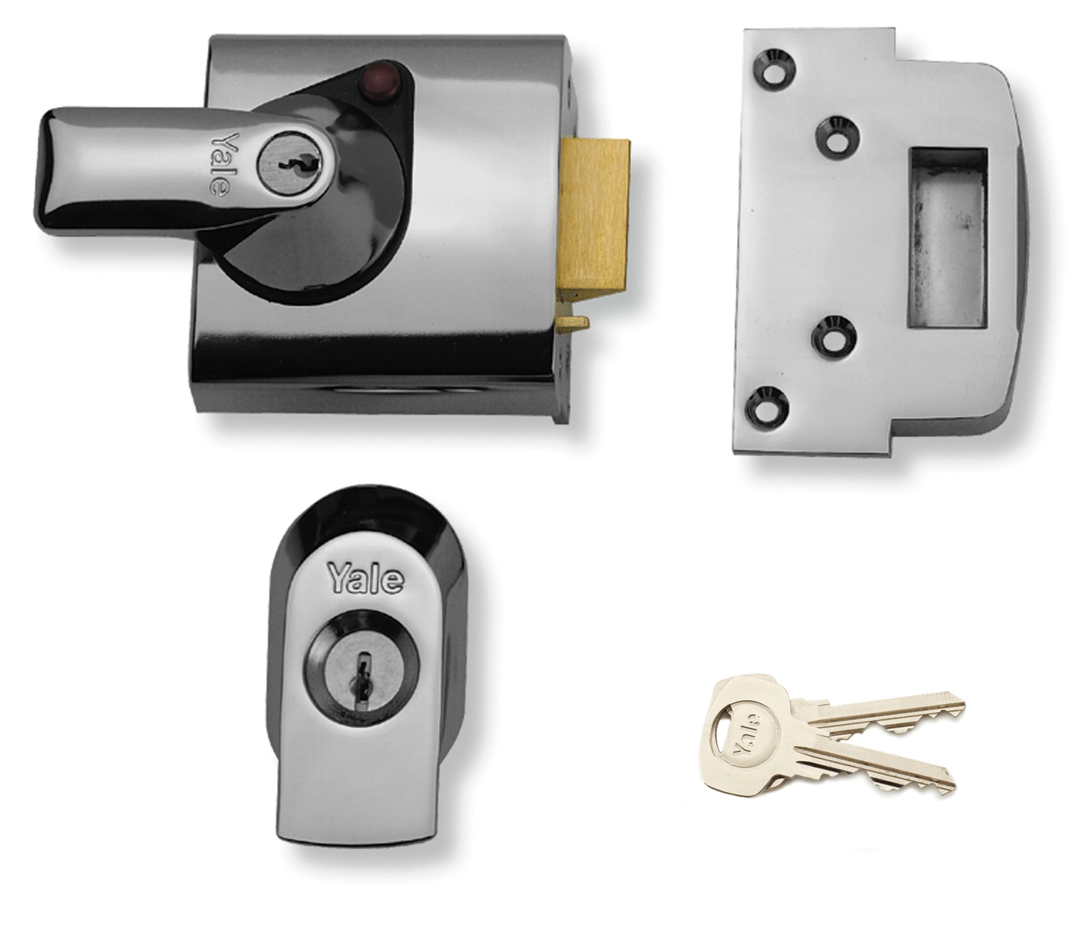 BS1/BS2 - BS3621 Maximum Security Nightlatch