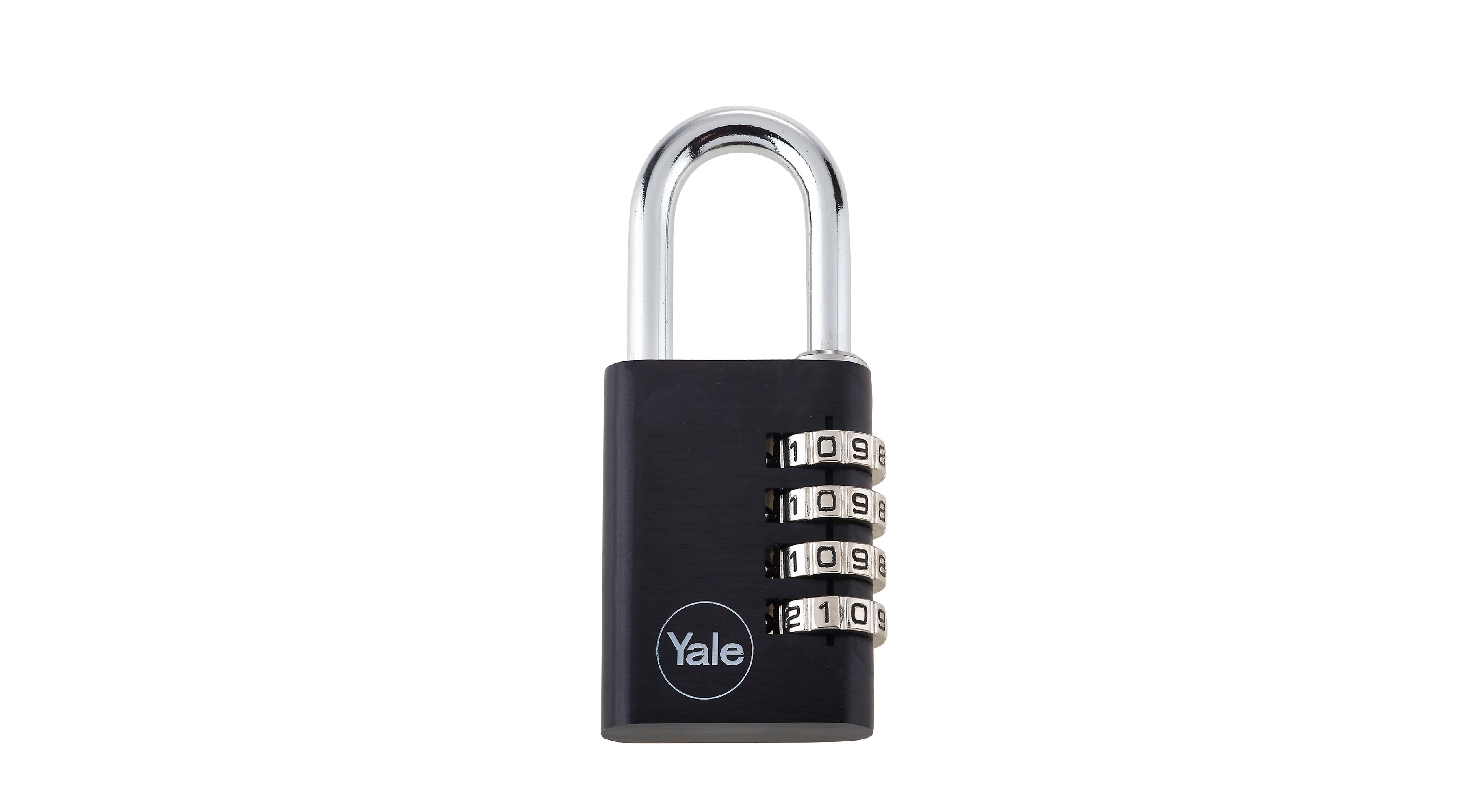 38mm Aluminium Combination Padlock 4 dials