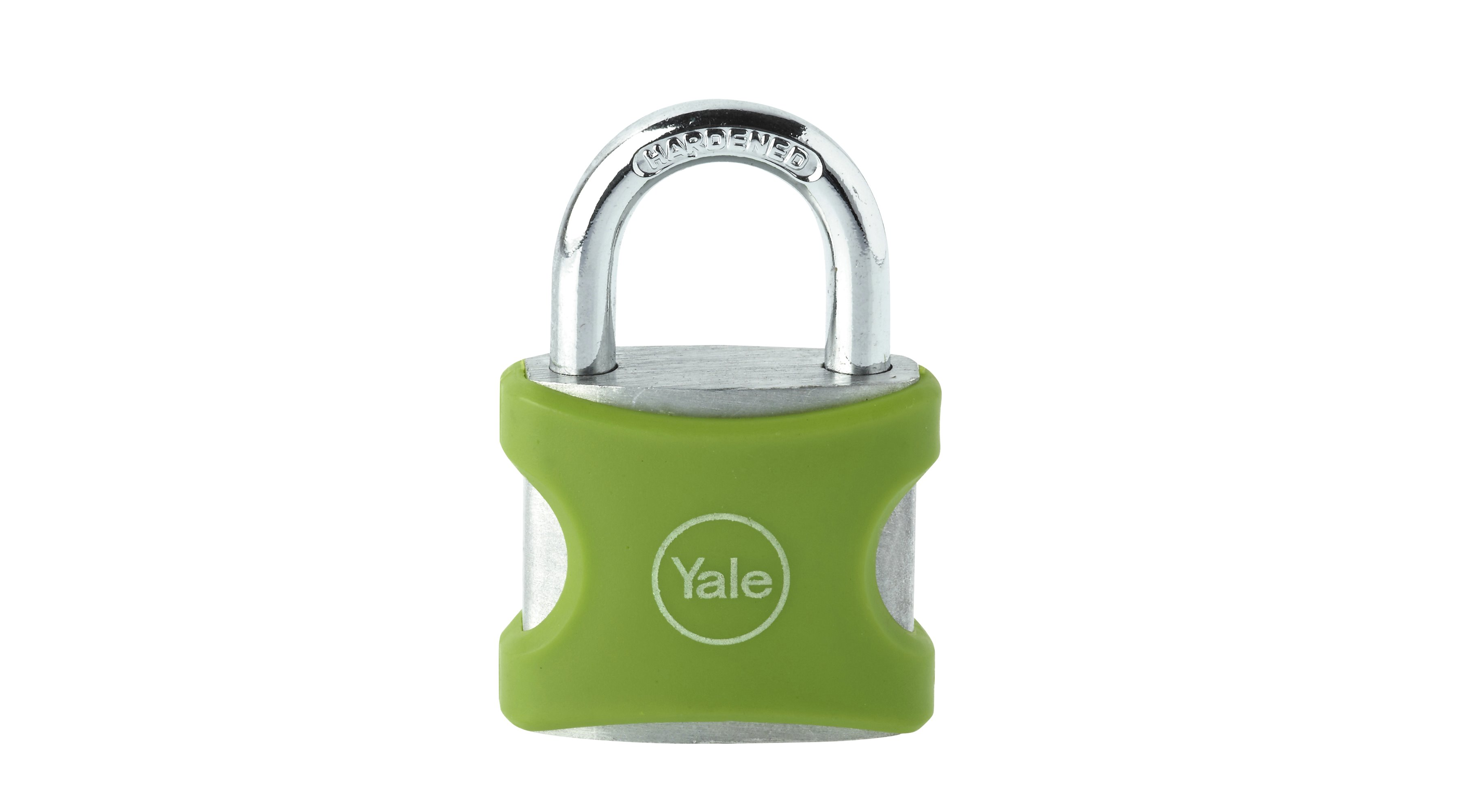 38mm Aluminium Padlock Green