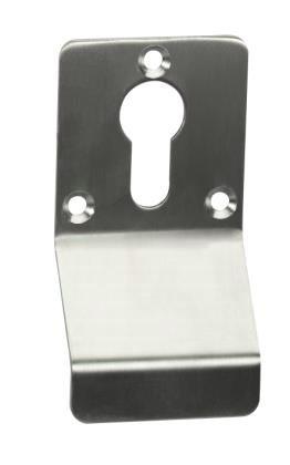 Cylinder escutcheon pull