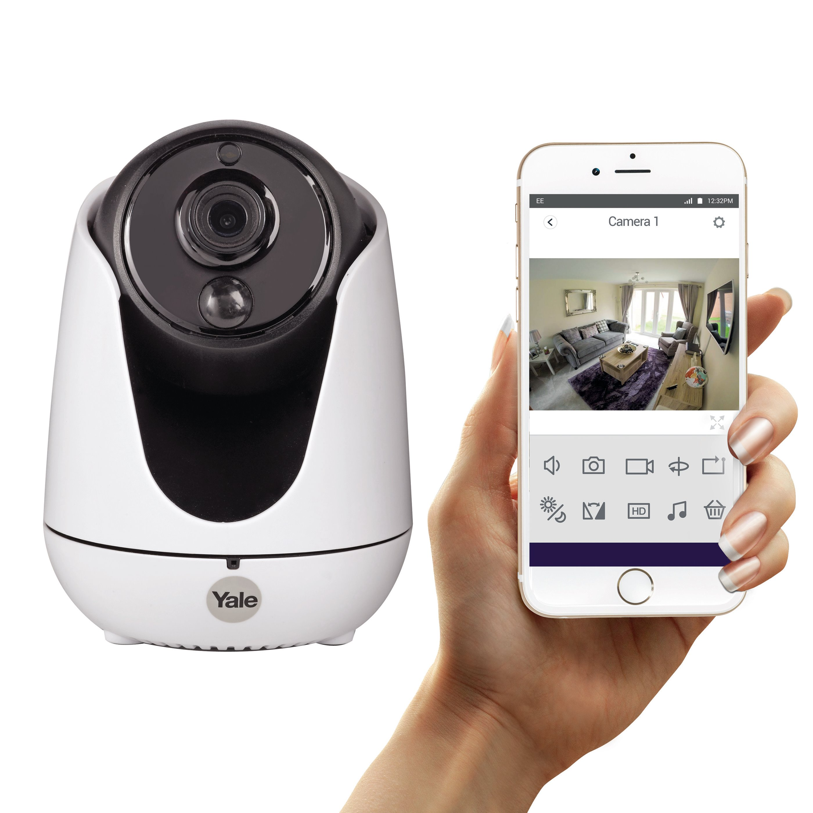 Home View Pan Tilt Zoom IP Camera - WIPC-303W