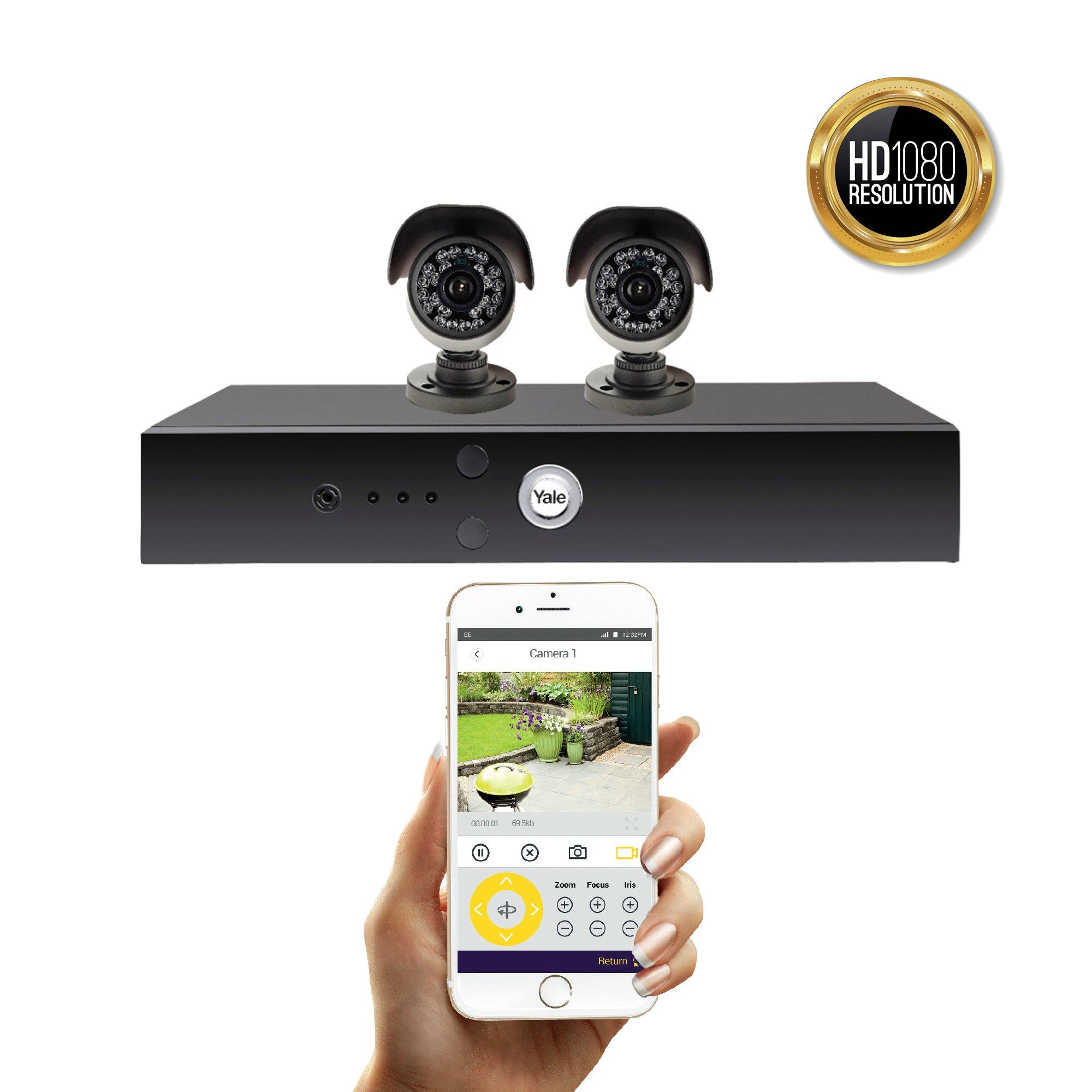 Smart HD1080 CCTV system - 2 Camera